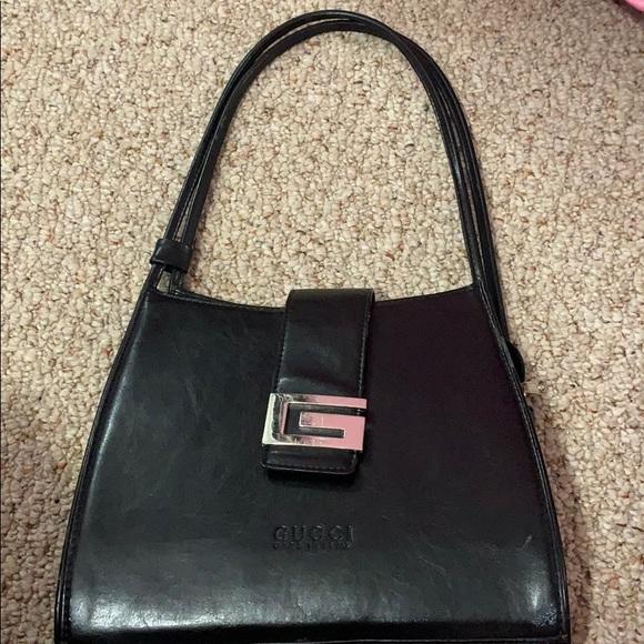 Gucci Handbags - Vintage Gucci bag with G logo